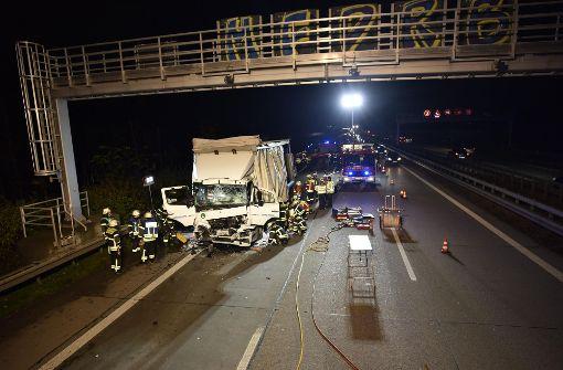 Ein 60-jähriger Lastwagenfahrer wurde schwer verletzt.  Foto: 7aktuell.de/Oskar Eyb