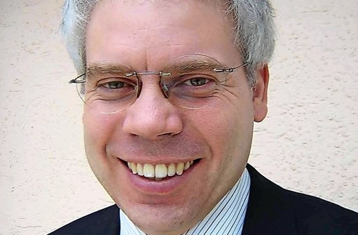 Der VCD-Landesvorsitzende Matthias Lieb hat die Positionen des Verbandes zum Ausbau des Schienenverkehrs vorgestellt. Foto: VCD