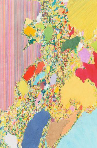 und Ute Litzkow . . . Foto: Galerie Schacher – Raum für Kunst