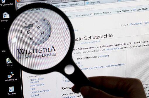 Internetzugang zu Wikipedia gesperrt