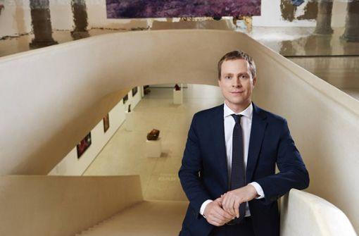 """Philipp Demandt im Städel-Museum in Frankfurt. Er kommt zur StN-Veranstaltung """"Über Kunst"""" in die Stuttgarter Staatsgalerie. Foto: Gaby Gerster"""
