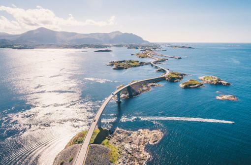 Norwegens spektakulärste Fahrradroute