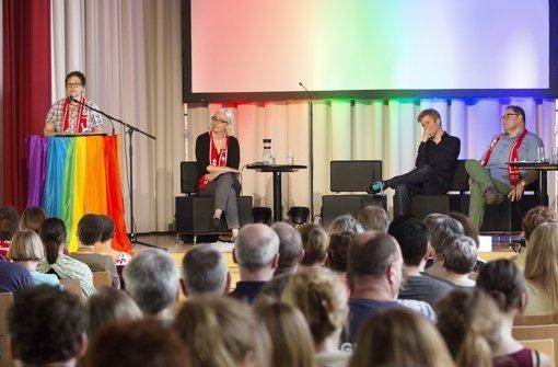 Veranstaltung im Zentrum Regenbogen in Wangen Foto: Lichtgut/Horst Rudel