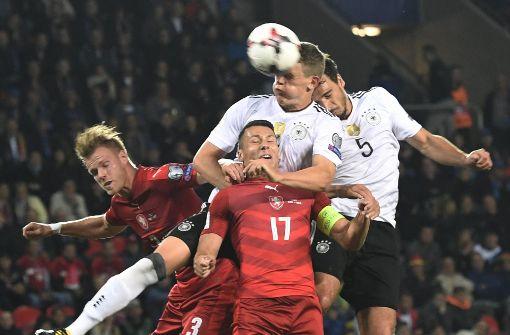 DFB-Team ein Schritt vom WM-Ticket entfernt