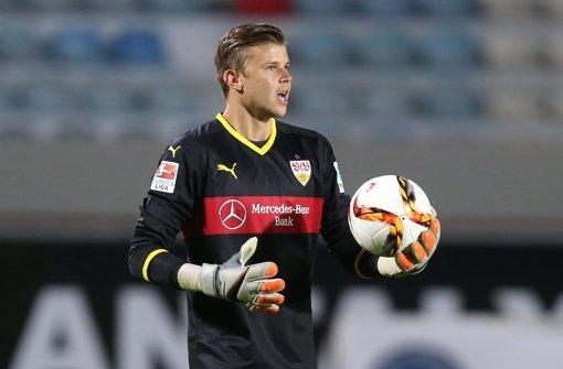 Mitch Langerak ist angekommen in Stuttgart Foto: Pressefoto Baumann