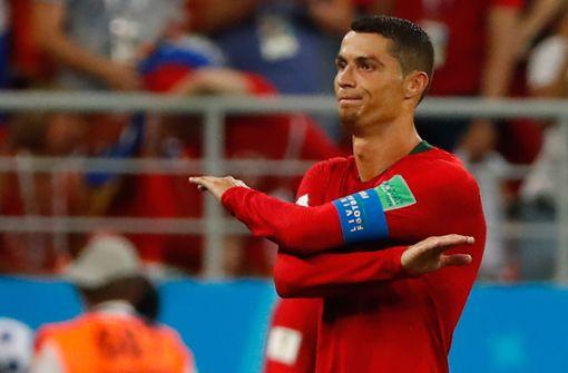 Eine Klatsche für Ronaldo