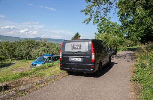 Laut der Polizei hatte der Mann um kurz nach 16 Uhr eine Wiese im Gewann Lindhaldenwiesen gemäht. Foto: 7aktuell.de/Sven Adomat