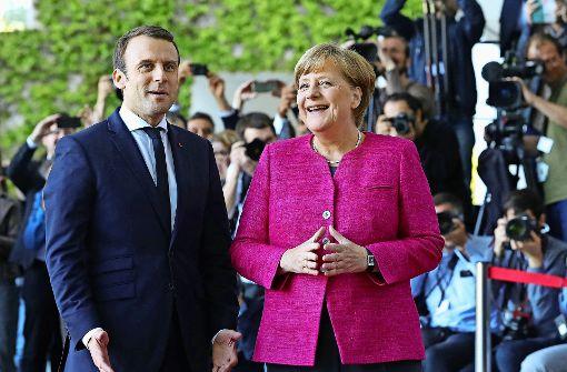 Macron und Merkel wollen Europa erneuern