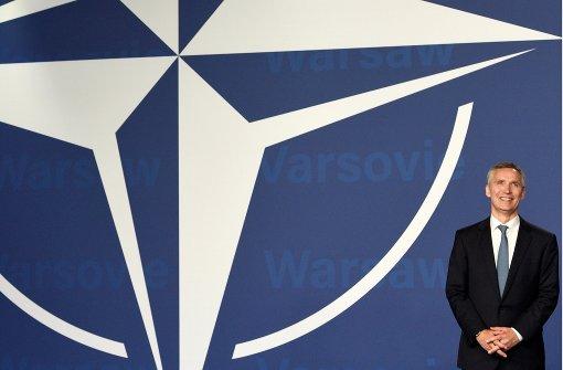 Die Nato lässt ihre Muskeln spielen