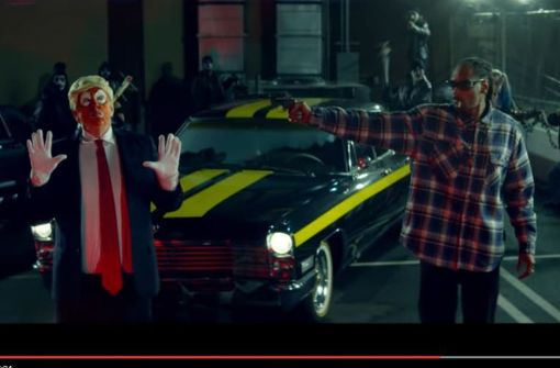 Rapper Snoop Dogg schießt auf Donald Trump