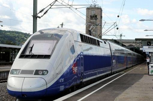 In 190 Minuten von Stuttgart nach Paris