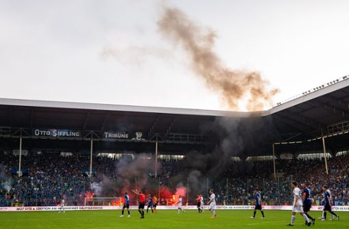 DFB reduziert Strafe wegen Ausschreitungen