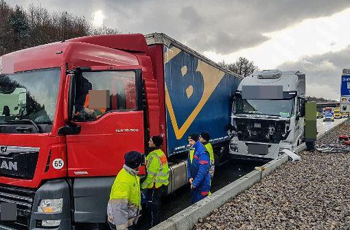 Der Unfall ereignete sich auf der A8 bei Leonberg-West. Foto: SDMG