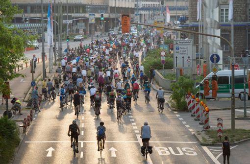 Den Fahrradprotest Critical Mass soll es nun auch für Kinder geben. Foto: dpa