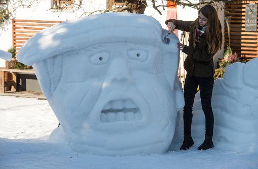 Der Schneepräsident