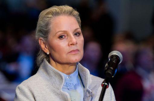 AfD-Spitze will Parteiausschlussverfahren gegen Sayn-Wittgenstein
