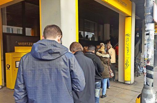 Die Postbank schließt ihre Filiale im Süden