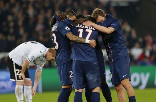 Paris St. Germain und Juventus Turin weiter