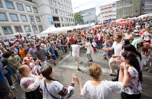 Sommerfestival der Kulturen auf dem Stuttgarter Marktplatz – eine Aufnahme aus dem vergangenen Jahr. Foto: Lichtgut/Julian Rettig