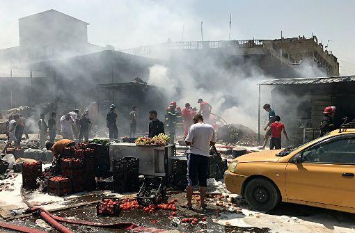 Viele Tote bei Autobombe in Schiitenviertel Sadr City