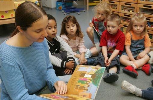Im Kindergarten Foto: dpa