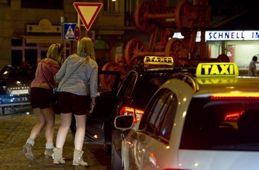 Taxifahrer bestreiken Volksfest