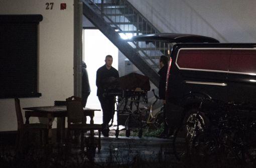 Die Leiche der jungen Frau wurde in einer städtischen Unterkunft gefunden. Foto: dpa
