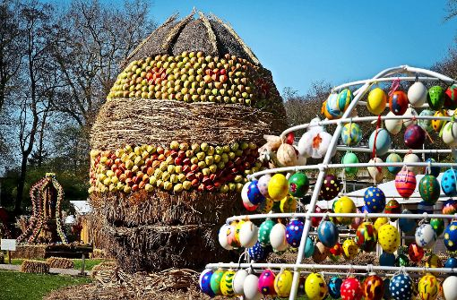 Erst 1150 neue Eier: die Ostereierallee braucht Nachschub