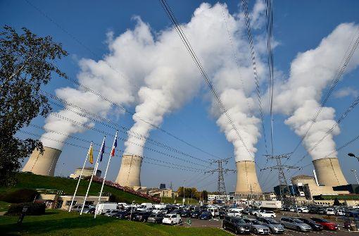 Das Atomkraftwerk Cattenom Foto: AFP