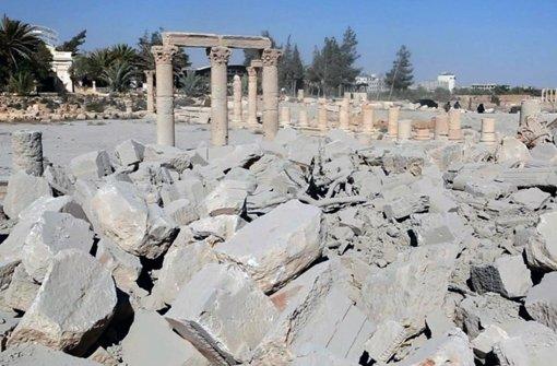 IS-Zerstörungswut ist nicht zu bremsen