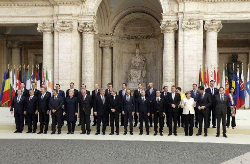 Die EU der 27 beschwört den Neuanfang