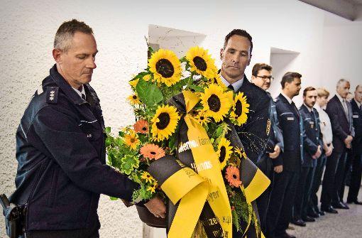 Stilles Gedenken an die Stuttgarter Terroropfer