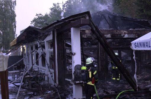 China-Restaurant brennt komplett aus