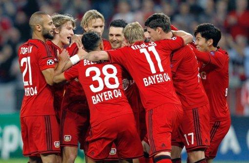 Bayer stürmt in die Champions League