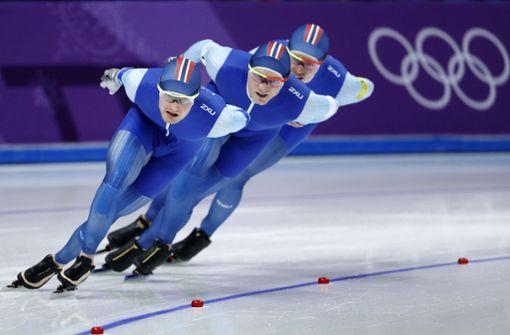 Eisschnelllauf: Norwegen und Japan jubeln in Teamverfolgung