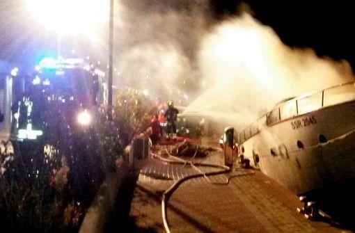 Tote auf brennender Jacht stammen aus NRW und Hessen