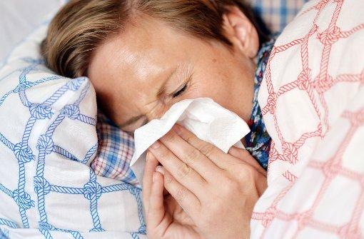 Die Grippe steht in den Startlöchern