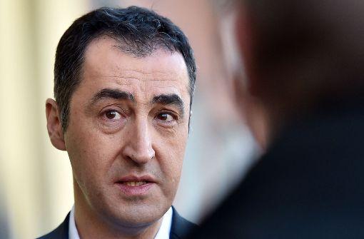 Grünen-Chef Cem Özdemir hat seine Bedingungen für eine mögliche Koalition nach der Bundestagswahl formuliert. Foto: dpa-Zentralbild