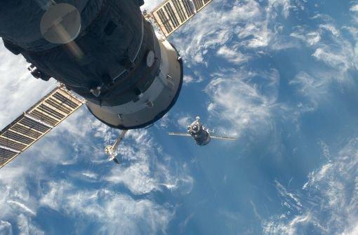 Satelliten-Wächter im Weltraum