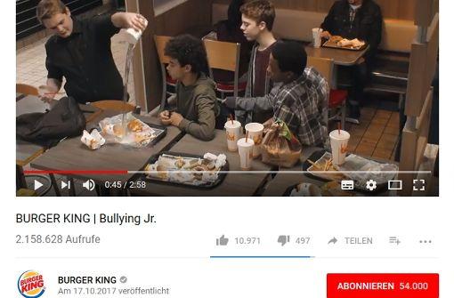 Aufrüttelndes Anti-Mobbing-Video kursiert im Netz