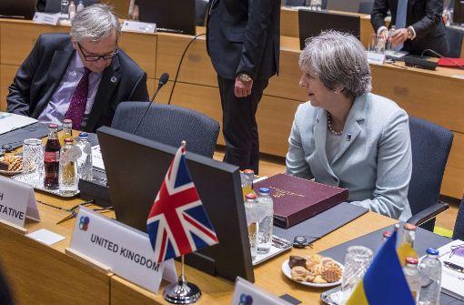 May will Verhandlungen ausweiten - Rest-EU nicht