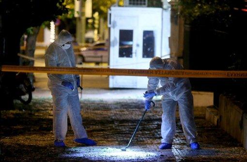 Handgranate auf französische Botschaft geschleudert