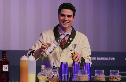 Kölner Barkeeper mixt Deutschlands besten Cocktail