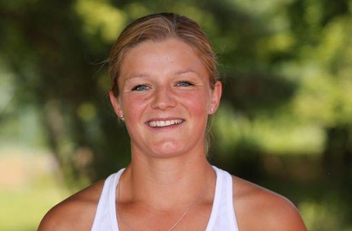 Anna Zaja ist Tennis-Bundesligaspielerin des TEC Waldau.  Foto: Pressefoto Baumann