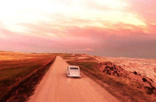Mit Alec Baldwin im Rolls Royce