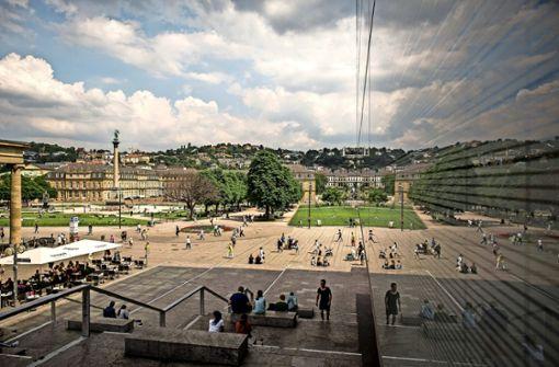 Erholung in Stuttgart: Immer mehr Reisende kommen in die Landeshauptstadt Foto: Lichtgut/Leif Piechowski