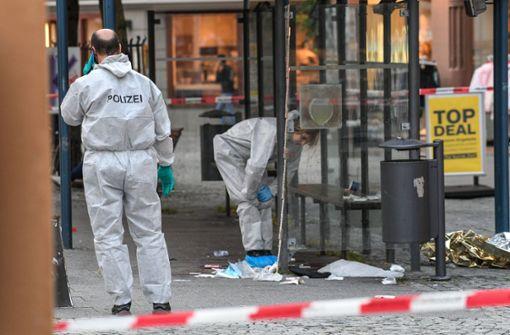Ende September hatte ein junger Mann in der Ravensburger Innenstadt ... Foto: dpa