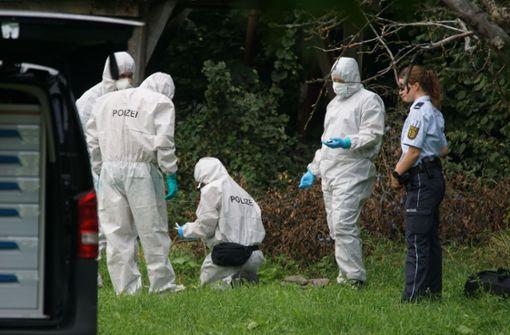 Die Leiche wurde in einem Bachbett nahe der Gemeinde Dürnau gefunden. Foto: SDMG