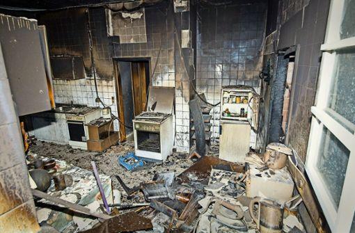 Rentner gesteht Brandstiftung mit vier Toten
