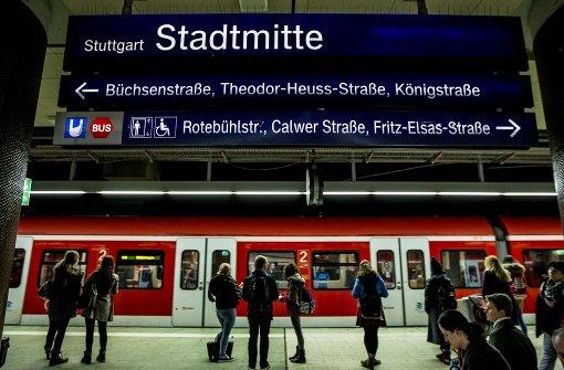 Bauarbeiten legen S-Bahnverkehr lahm